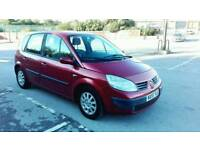 2005 RENAULT SCENIC EXPRESSION 1.6 16v MPV MET RED MOT & SERVICE HISTORY CHEAP CAR