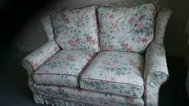 FREE two seater floral sofa