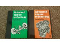 College textbooks, heisler advanced engine and vehicle technology
