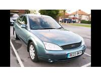 Ford Mondeo 2.0 Zetec 16v Green Hatchback 5 Door Petrol Manual Alloy Wheels