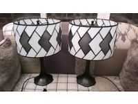Stunning Pair of Lamps