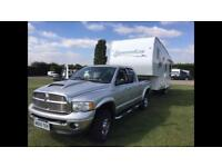 Caravan (5th wheel) and Dodge Ram 2500 5.9 diesel. Both immaculate condition