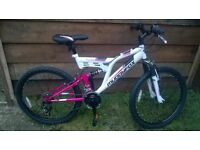 girls brand new muddy fox mountain bike