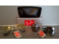 Rayban Sunglasses, lots to choose from, New with tags