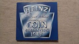 HEINZ ROYAL MINT UNCIRCULATED COIN COLLECTION 1983