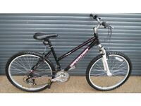 GIRLS BARROSSA ALUMINIUM BIKE IN EXCELLENT LITTLE USED CONDITION. (SUIT AGE 10 / 11+ / TEENAGER)..