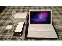 White Macbook 13 C2D 2.16Ghz 4GB 120GB HDD ProTools Avid Adobe CS6 MS OFFICE 2011 Warranty