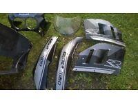 GSXR 1100k/l fairings