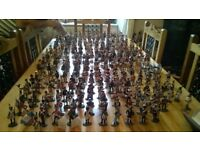 Delprado military collection hand painted 100 infantry 120 cavalry 2 cannons. Excellent condition.