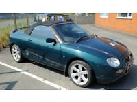 MGF 1998, 1800 VVC, Soft & Hard Tops, 45k miles only lovely condition