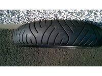 used metzler mez4 motorcycle tyre