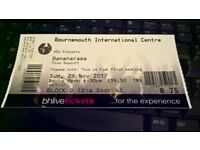 Bananrama ticket for sale BIC Bournemouth