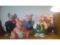 Natwest pigs money bank full collection