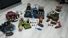 Pirates of the Caribbean Mega blocks Sets (compatible with lego)