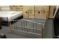 Brand new double bed comes boxed can deliver locally
