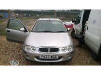 Silver Rover 25 crackin little car