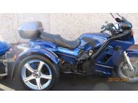 GREAT LOOKING PROFESSIONAL CONVERTION TO COMFORTABLE TOURING TRIKE