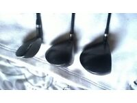 3 x Graphite drivers various sizes