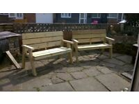 Garden furniture for sale. Made to order.