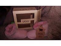 Genuine infants pink ugg boots