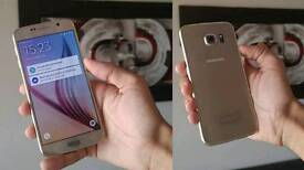 Samsung S6, 64g, GOLD unlocked