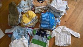 Large bundle baby boy clothes 3-6 months