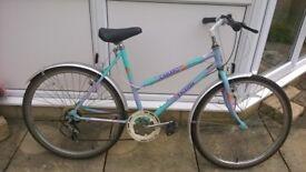 Ladies Mountain Bike, Raleigh Camaro