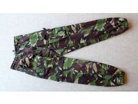 """DPM Field Combat Trousers 27"""" Waist 29"""" Leg (75/68/84) in VGC (ATC CCF cadets army woodland pants)"""