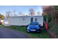 Year 2012 Static Caravan in Folkestone, Kent. Ideally suit couple wanting a Bolthole on the coast