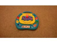 Peppa Pig children's interactive laptop with lots of games