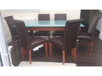 Calligaris dining tables chairs for sale gumtree for 10 person dining table for sale