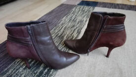 Brown high heels in a very good condition, EUR 39
