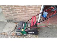 Electric 1200W Qualcast Lawn rake and scarifier