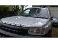 Landrover Freelander 2.5 v6 2002 non runner