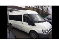 2002 ford transit 2.4di mini bus long mot drives the best