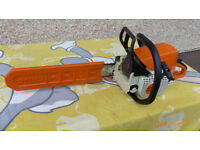 sthil ms 250 petrol chain saw