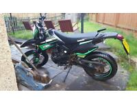 motorbike for swap or sale 125cc road legal
