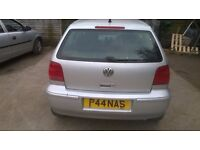 2001 VW POLO AUTOMATIC FOR SPARES ONLY