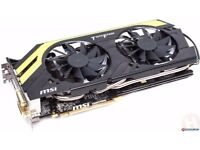 MSI AMD HD7970 (R9 280X) Ghz Lightning Boosted Edition 3gb Graphics Card