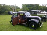 1947 Morris 8 Series E.