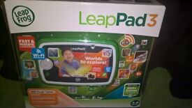 Leapfrog Leap pad 3 learning tablet (WiFi) in VGC mint box