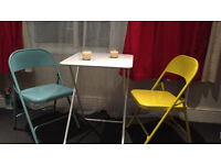 Amazing folding table and chair, Clapham Junction