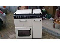 diplomat gas range cooker
