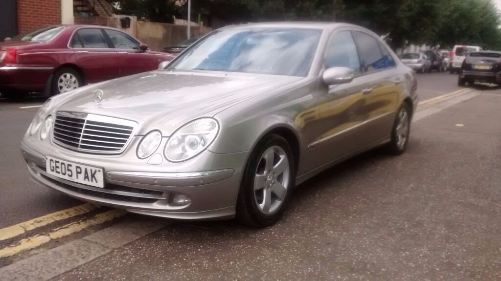 2005 mercedes e220 cdi avantgarde 2 2 diesel 6 speed for Mercedes benz north america customer service