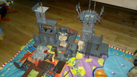 HUGE SET MEGA BLOCK PIRATE OF THE CARIBBEAN and DRAGONS + extras