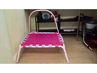 Beautiful Pink Trampoline for kids 0-4 years Good condition