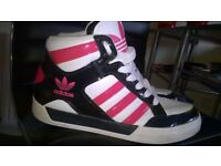 adidas size 4 high-tops