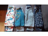 4 pairs of John Lewis boys 2-3 size longsleeved pyjamas