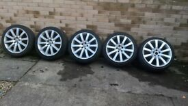 "19"" alloy wheels from Jaguar XF 2010"