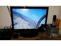 "22"" TV screen/pc monitor mint condition"
